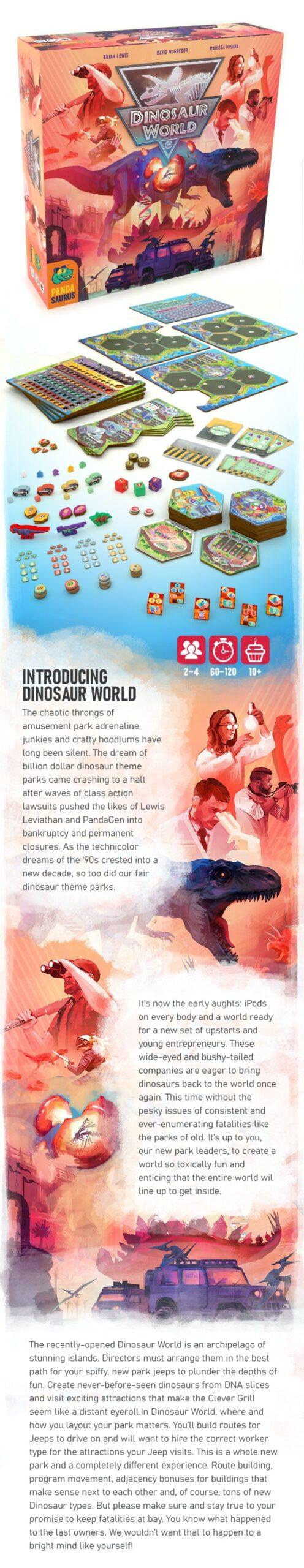 dinosaur world kickstarter