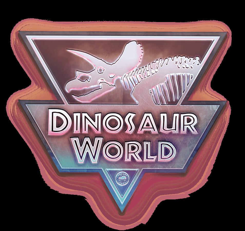 logo dinosaur world