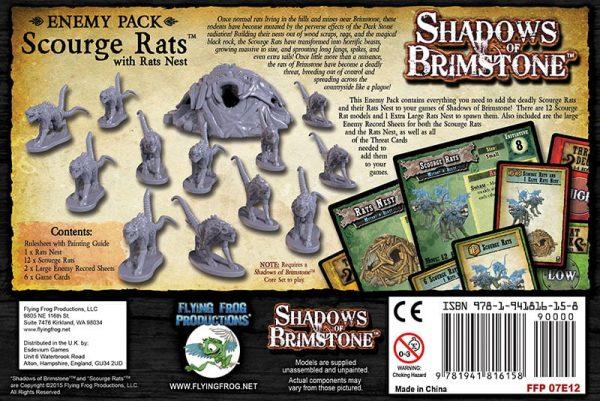Scourge rats trasera