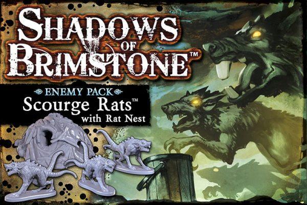Scourge rats portada