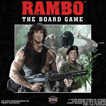 Rambo the boardgame